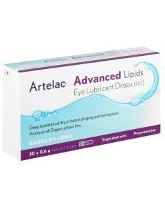 Artelac Advanced Lipids Eye Drops 30 X 0.5ml