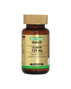 Gold 5-htp 220mg 30 Vegecaps