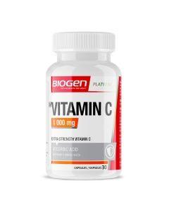 Biogen Vitamin C 1000mg Caps 30's