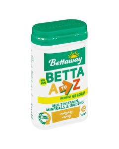 Bettaway Betta A-z Multivitamin 30 Tabs