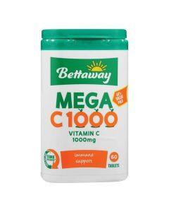 Bettaway Mega C 1000 60 Tabs