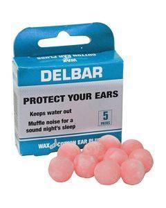 Earplugs Wax 5's Delbar