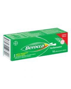 Berocca Effervescent Tropical 10 Tablets