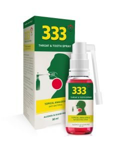3cp / 333 Throat And Tooth Spray 30ml