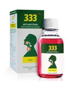 3cp / 333 Oral Throat Gargle 200ml Mint
