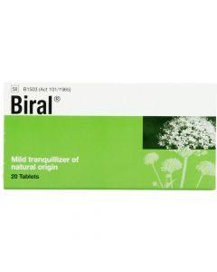 Biral 20 Tablets