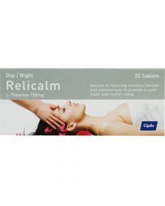 Cipla Relicalm 20 Tablets