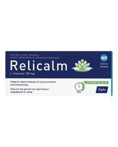 Cipla Relicalm 40 Tablets