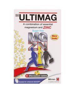 Ultimag Magnesium & Zink Effervescent Tabs 30's