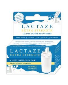 Lactaze Xstra Strong Tabs 60's