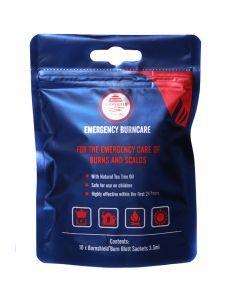 Burnshield Mundial Sachet 3.5ml Travel Pack 10's