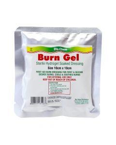 Medic Burn Gel Dressing 10x10cm Dis-Chem