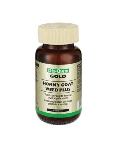 Dis-Chem Gold Horny Goat Weed Plus 60 Tabs