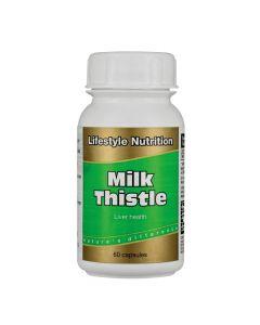 Lifestyle Nutrition Milk Thistle 60 Capsules