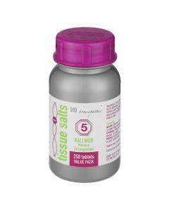 Bio Homeopathic T/s Kali Mur 250 Tabs No 5