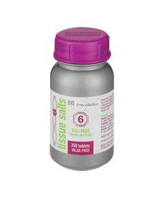 Bio Homeopathic T/s Kali Phos 250 Tabs No 6