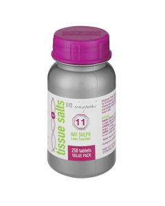 Bio Homeopathic T/s Nat Sulph 250 Tabs 11