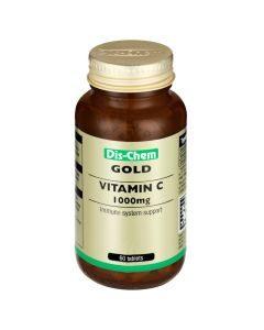 Dis-Chem Gold Vitamin C 1000mg 60 Tabs