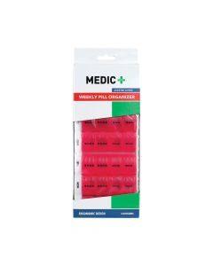 Medic Pill Box 7 Day 4 Divisions Pink
