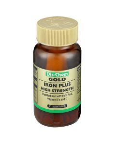 Dis-Chem Gold Iron High Strength 30 Tablets