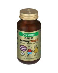 Dis-Chem Gold Yummy Vites Vita C Blackcurrant 60s
