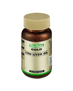 Dis-Chem Gold Cod Liver Oil 90's