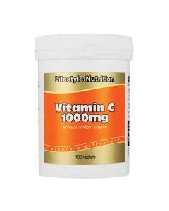 Lifestyle Nutrition Vitamin C 1000mg 100 Tabs