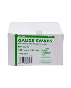 Medic Gauze Swabs 8ply 100mmx100mm 100's