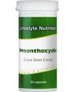 Lifestyle Nutrition Proanthacydin 60 Caps