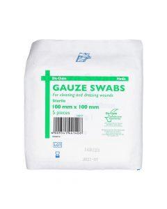 Medic Gauze Swabs Sterile 100mmx100mm