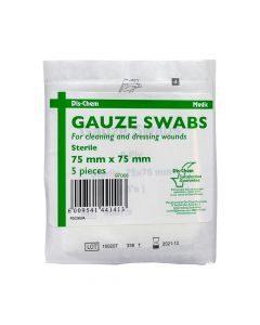 Medic Gauze Swabs Sterile 75mmx75mm