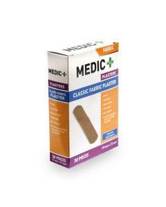 Medic Plaster Fabric 19x72mm 30's
