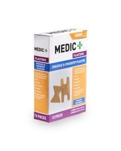 Medic Plaster Knuckle & Fingertip 12's