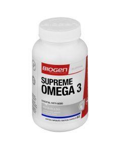 Biogen Supreme Omega 3 Softgel 60's