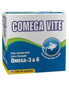 Inova Comega Vite Omega 3 & 6 Extra Strength 90 Caps