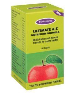 Bioharmony Ultimate A-z 60 Tablets