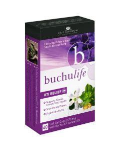 Buchu Life Uti Relief 40 Caps