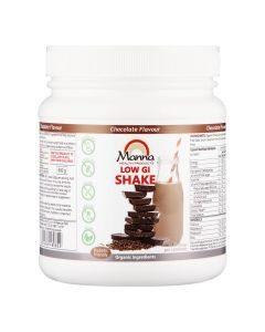 Manna Low Gi Shake Chocolate 600g