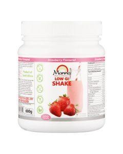 Manna Low Gi Shake Strawberry 600g