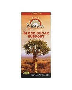 Manna Blood Sugar Support 120 Caplets