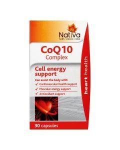 Nativa Coq10 Complex 30 Caps