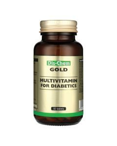 Dis-Chem Gold Multivitamin For Diabetics 60's