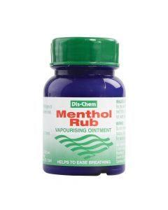 Dis-Chem Menthol Rub 100g
