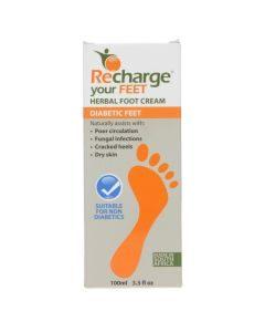 Recharge Diabetic Foot Cream 100ml