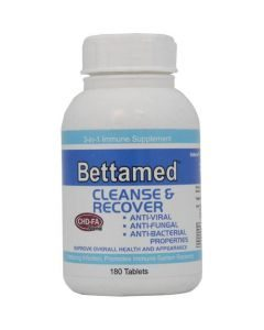 Bettamed Cleanse & Recover Tabs 180's