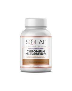 Solal Chromium Polynicotinate 90's