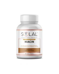 Solal Niacin Vitamin B3 35mg 60 Tabs