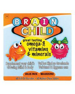 Brain Child Combo Pack 120's