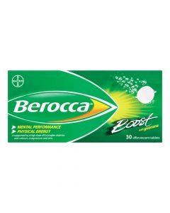 Berocca Boost Effervescent 30 Tablets