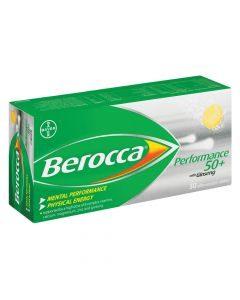 Berocca Performance 50 Plus 30 Effervescent Tablets